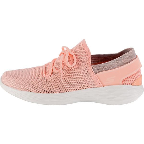 SKECHERS, You Spirit Gute Sneakers Low, rosa  Gute Spirit Qualität beliebte Schuhe e79a52