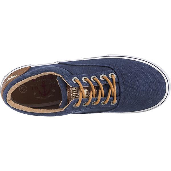 MUSTANG MUSTANG Sneakers Low Sneakers dunkelblau dunkelblau MUSTANG Low Sneakers Low cvPcg