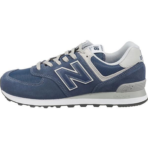Sneakers balance new D Low dunkelblau ML574 PBHxq