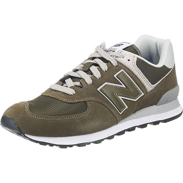 D Sneakers grün ML574 new balance Low q7wxTggPE
