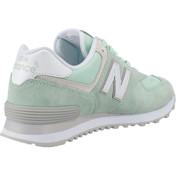 new balance, WL574 B Gute Sneakers Low, hellgrün  Gute B Qualität beliebte Schuhe 5c11ab