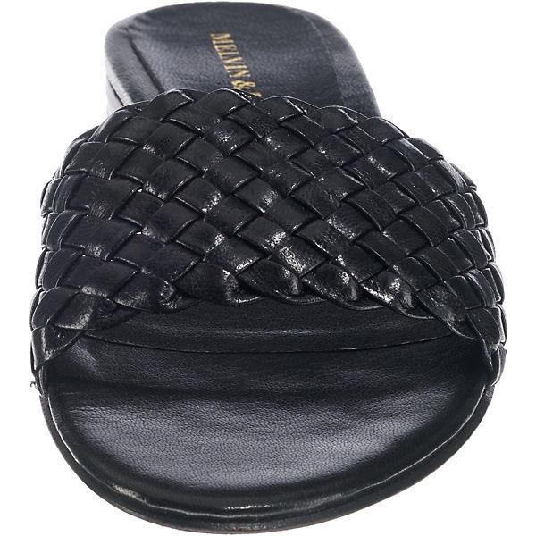 MELVIN Pantoletten, & HAMILTON, Hanna 26 Pantoletten, MELVIN schwarz  Gute Qualität beliebte Schuhe 4faaac