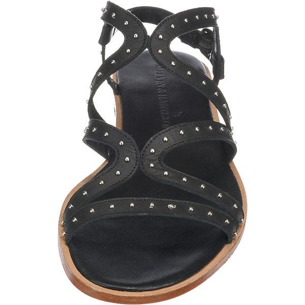 Komfort Sandalen amp; schwarz HAMILTON Sandra MELVIN 28 UwFXPIqq