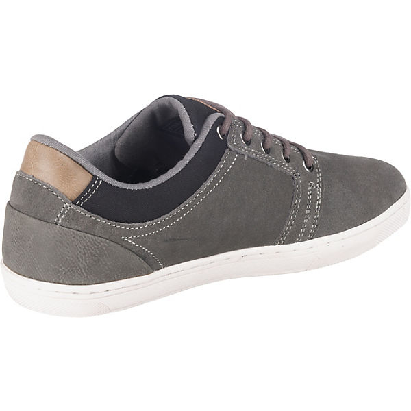 Sneakers grau Low Pier One Pier One znxg7n8a