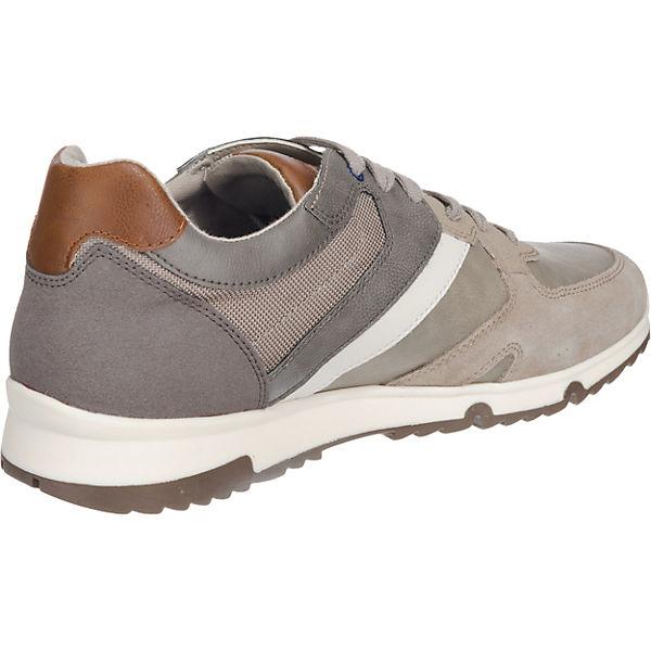 GEOX, Wilmer Sneakers Low, beliebte grau  Gute Qualität beliebte Low, Schuhe b3762c