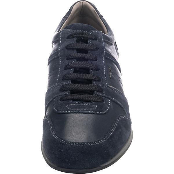 dunkelblau Sneakers dunkelblau Clemet GEOX Low GEOX Sneakers dunkelblau Low Sneakers Low Clemet GEOX Clemet wgYITTq