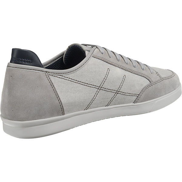 Low Geox Sneakers Walee Walee Sneakers Geox Hellgrau 0IXqwOXrx