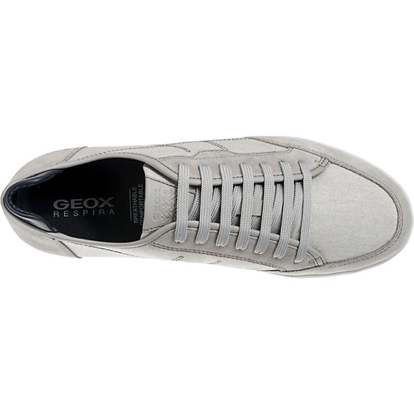GEOX, Walee Gute Sneakers Low, hellgrau  Gute Walee Qualität beliebte Schuhe 6be075