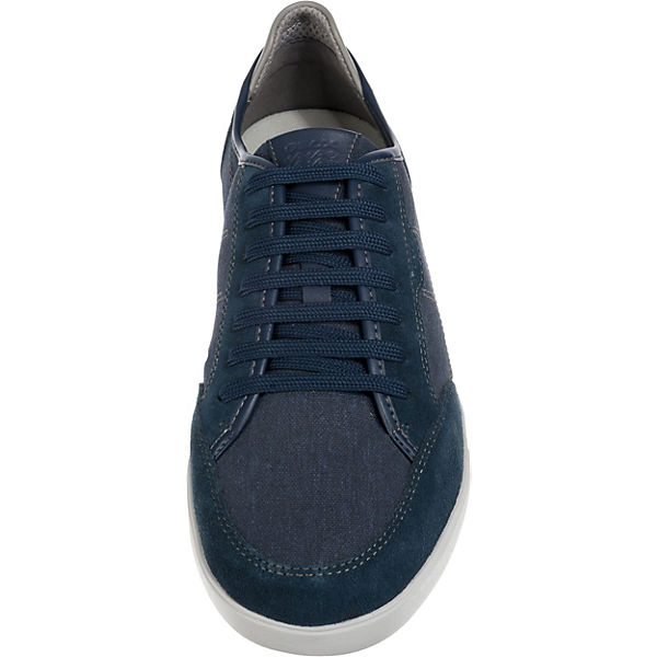 GEOX, Walee Gute Sneakers Low, dunkelblau  Gute Walee Qualität beliebte Schuhe 7f8038