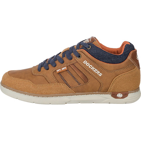 Dockers by Gerli Sneakers Low cognac