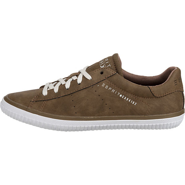 Low Up Braun Sneakers Esprit Lace Riata 1IxqEBA