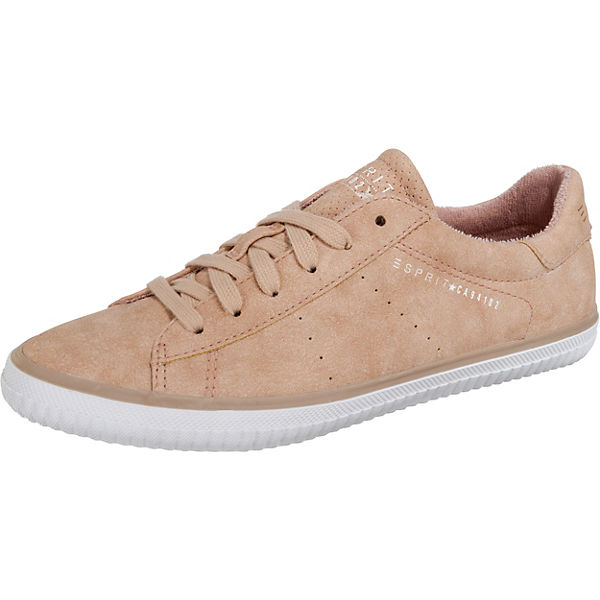 Low ESPRIT beige up Riata Sneakers Lace x6Oq1n6zw