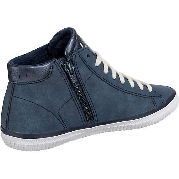High Esprit Riata Sneakers Blau Bootie tOwOSpUxZq
