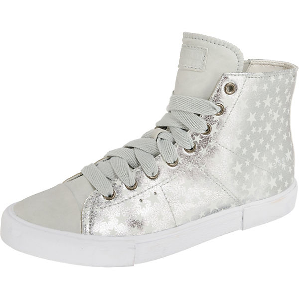 ESPRIT Sonetta Bootie Sneakers High grau