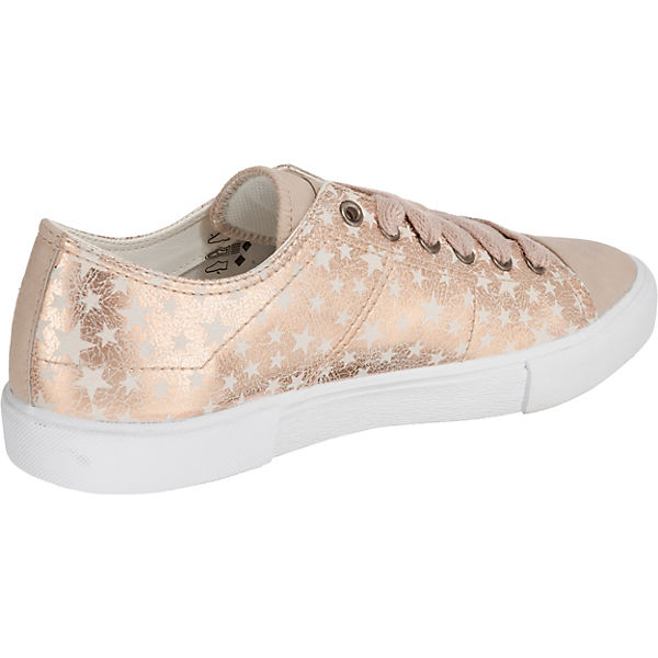 ESPRIT Sonetta Lace up Sneakers Low gold