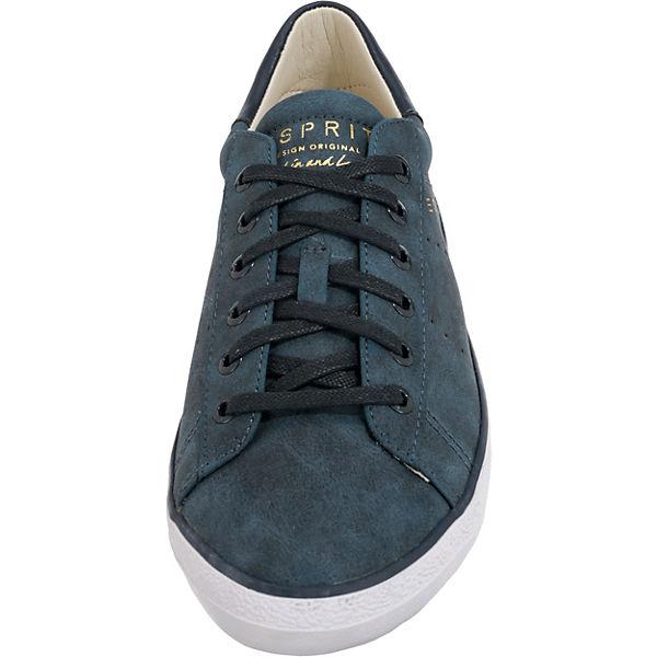 ESPRIT, Miana Lace up Gute Sneakers Low, blau  Gute up Qualität beliebte Schuhe 73479c