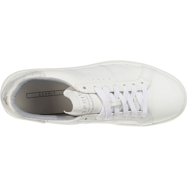 ESPRIT, Elda Lace up Sneakers Low, silber  Gute Gute Gute Qualität beliebte Schuhe 700aca