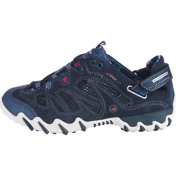 ALLROUNDER BY MEPHISTO, NIWA Gute Sneakers Low, blau  Gute NIWA Qualität beliebte Schuhe 9fdd13
