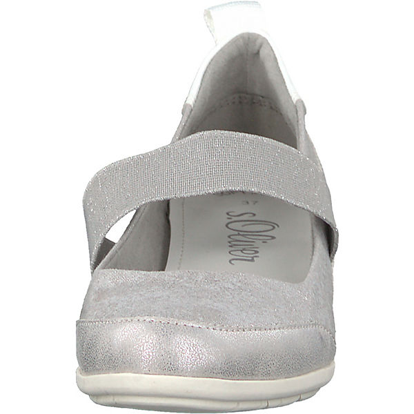 S.Oliver, Keilpumps, silber silber silber  Gute Qualität beliebte Schuhe c33beb