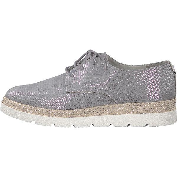 s.Oliver, Qualität Schnürschuhe, silber  Gute Qualität s.Oliver, beliebte Schuhe c684f4