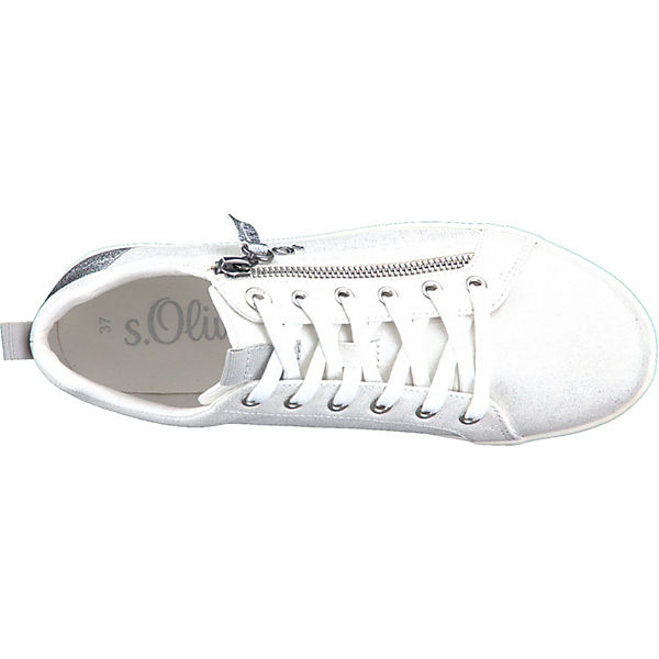 s.Oliver Sneakers High weiß