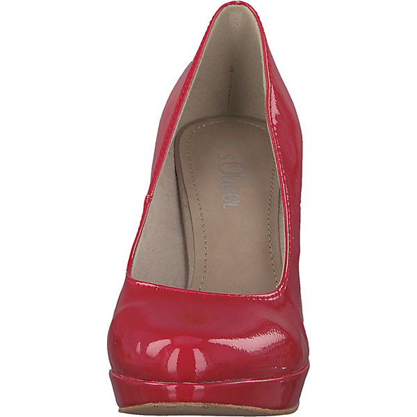 Oliver rot Plateau Pumps rot s s Oliver Pumps Plateau wqWS1EB