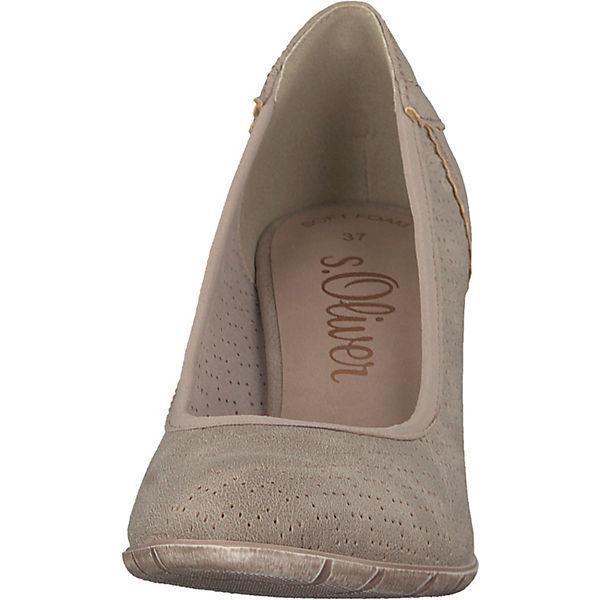S.Oliver, Klassische Pumps, Pumps, Pumps, taupe  Gute Qualität beliebte Schuhe db1e24