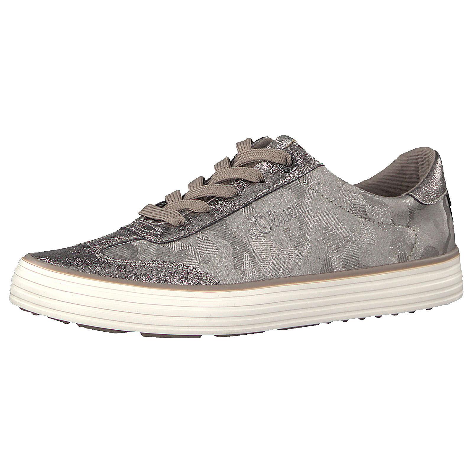 s.Oliver Sneakers Low grau-kombi Damen Gr. 36