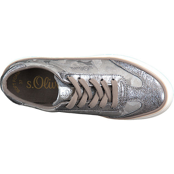 Oliver Sneakers kombi Low grau s dzx0wd