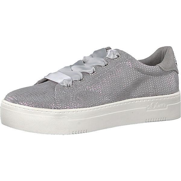 Oliver Oliver s Sneakers Low grau s Sneakers Oliver s grau Low 7qw5En