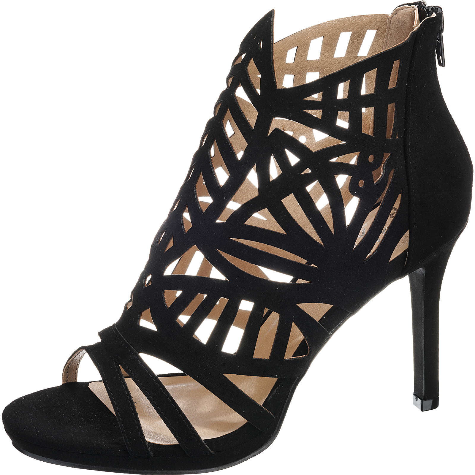 BULLBOXER Klassische Sandaletten schwarz Damen Gr. 37