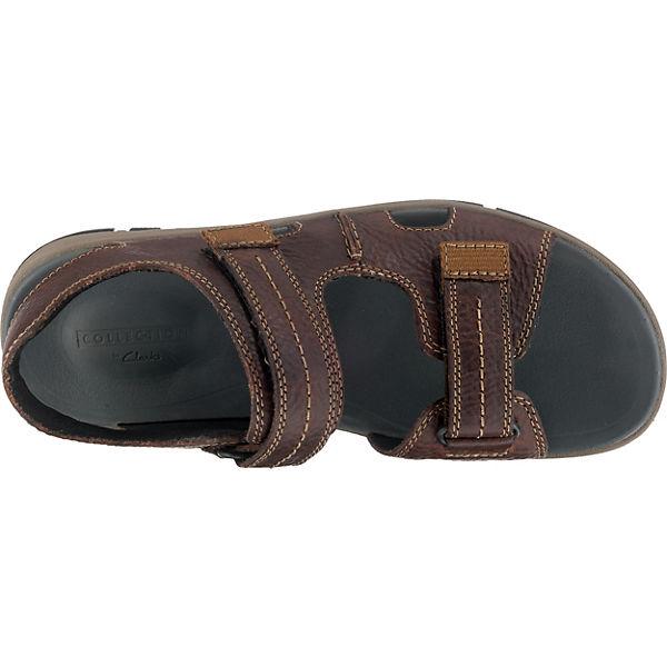 Clarks, Brixby Shore Klassische Qualität Sandalen, dunkelbraun  Gute Qualität Klassische beliebte Schuhe 23b302