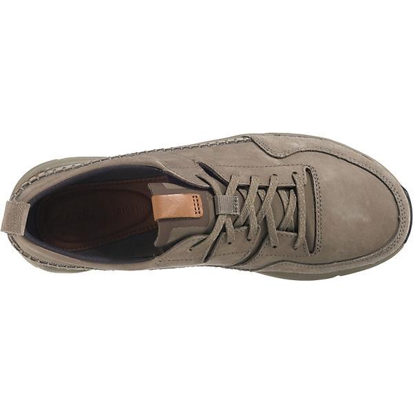 Clarks, Tri Active Run  Sneakers Low, khaki   Run 6e2edf