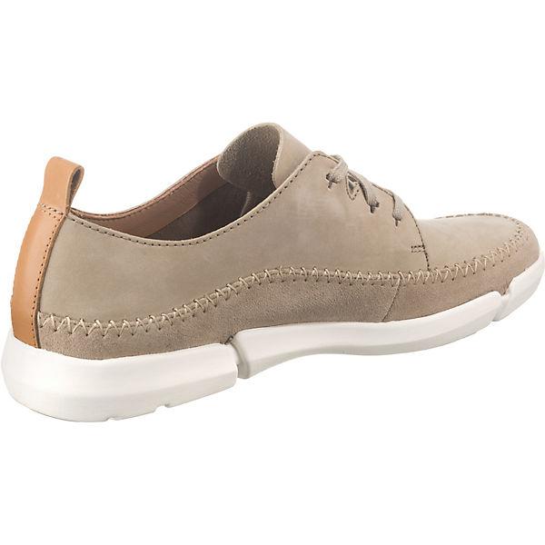Sneakers beige Fri Tri Lace Clarks Low wATZq