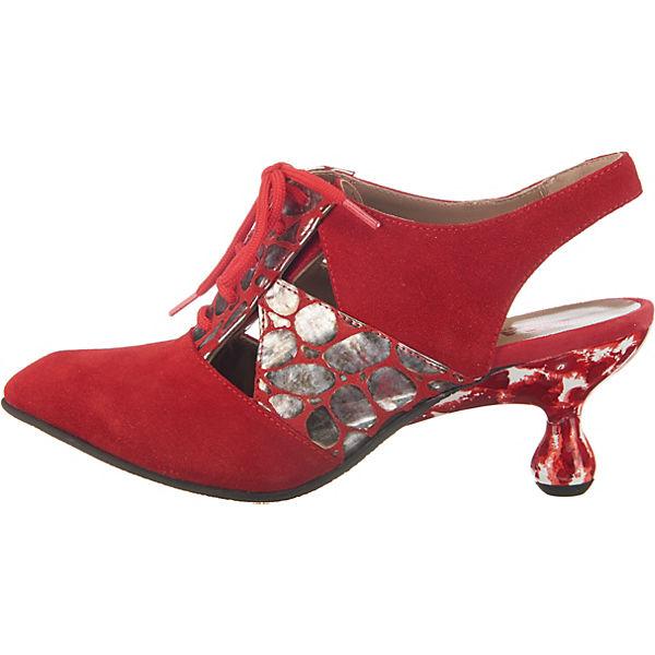 LISA TUCCI, GILDONE Qualität Schnürpumps, rot-kombi  Gute Qualität GILDONE beliebte Schuhe d5fbf5