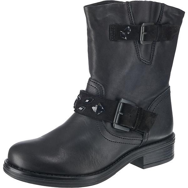 BULLBOXER Biker Boots schwarz