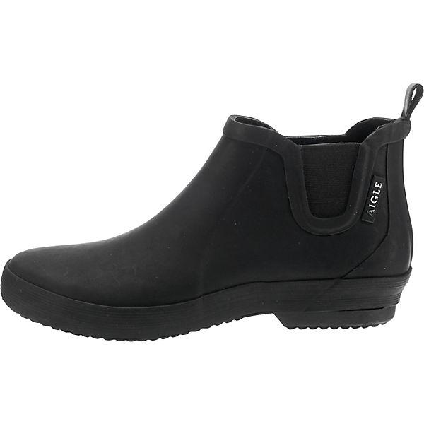 Ankle CHELSEA Boots MALOUINE schwarz AIGLE qE7wcpTxCA