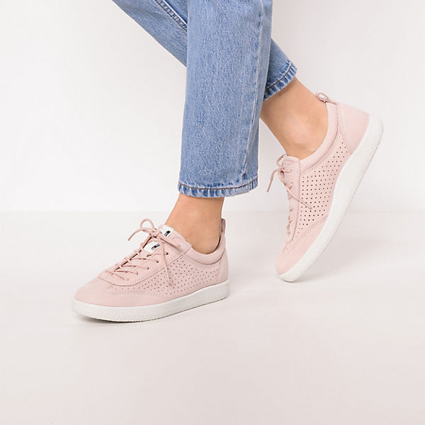 ecco White Sneakers Soft rosa Droid 1 Low gv4xwEqgr