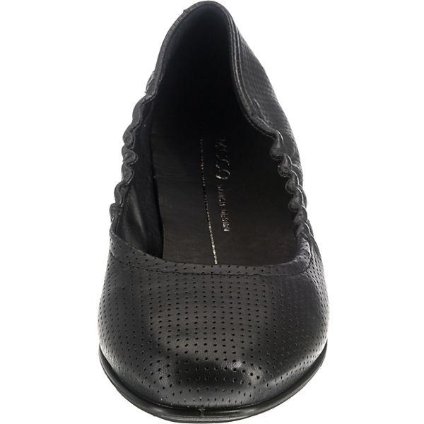 ecco, Incise Enchant Black Foulard Klassische Slipper, beliebte schwarz  Gute Qualität beliebte Slipper, Schuhe 054a30