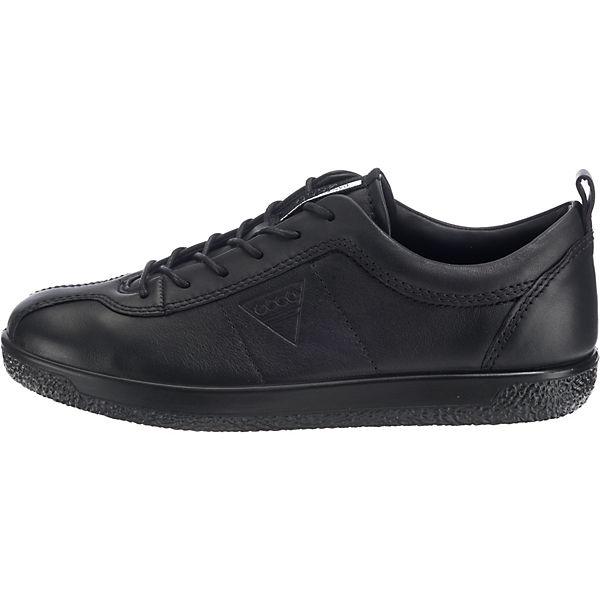 ecco, Soft Soft Soft 1 Ladies Sneakers Low, schwarz  Gute Qualität beliebte Schuhe 3f01c2