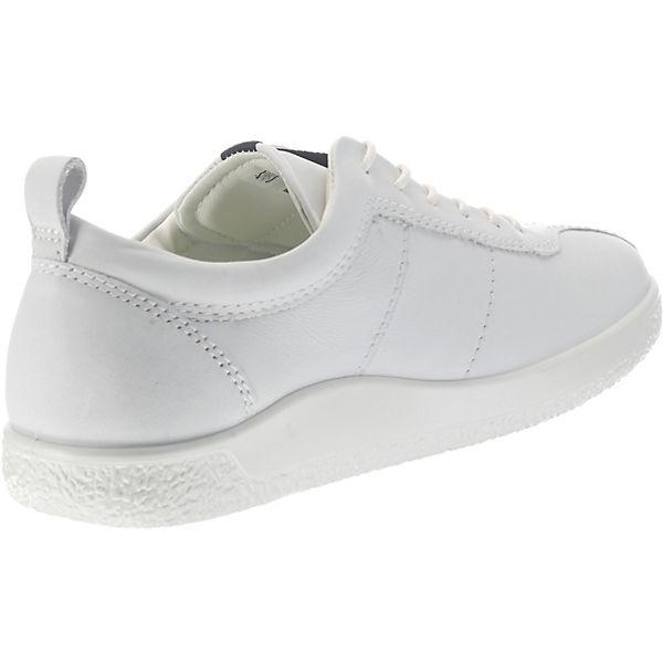 1 Soft weiß Sneakers Droid ecco Low White 8Z5qxz