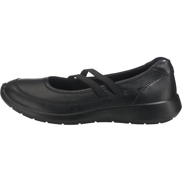 ecco Ballerinas Komfort ecco schwarz Komfort p817w