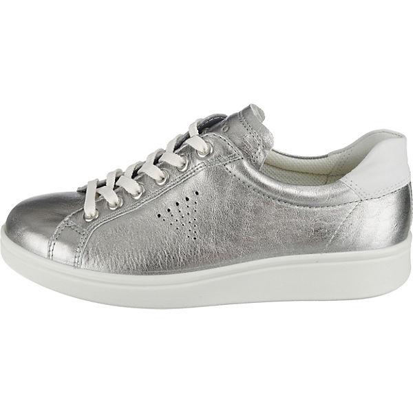 ecco, Aquet Rose Dust Trento Gute Sneakers Low, silber  Gute Trento Qualität beliebte Schuhe d5c214
