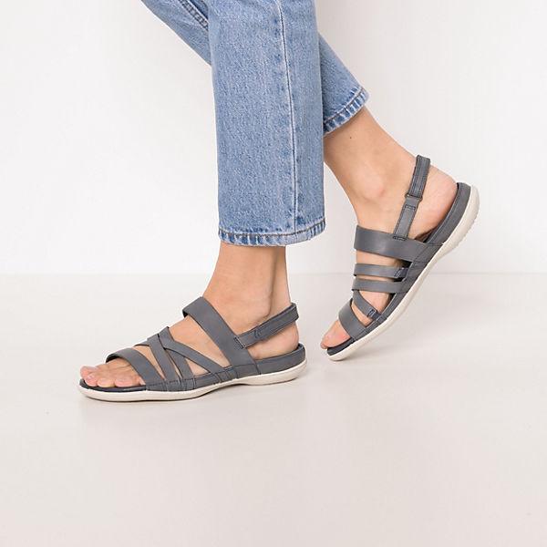 ecco Flash Warm Grey Metallic/Moon Rock Le/Cl Klassische Sandalen blau  Gute Qualität beliebte Schuhe