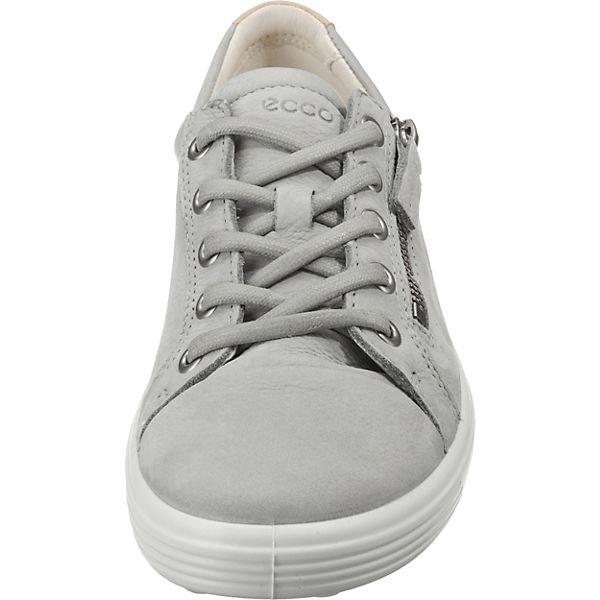 Droid Soft grau Low Sneakers ecco 1 White tTfwxqtdAH
