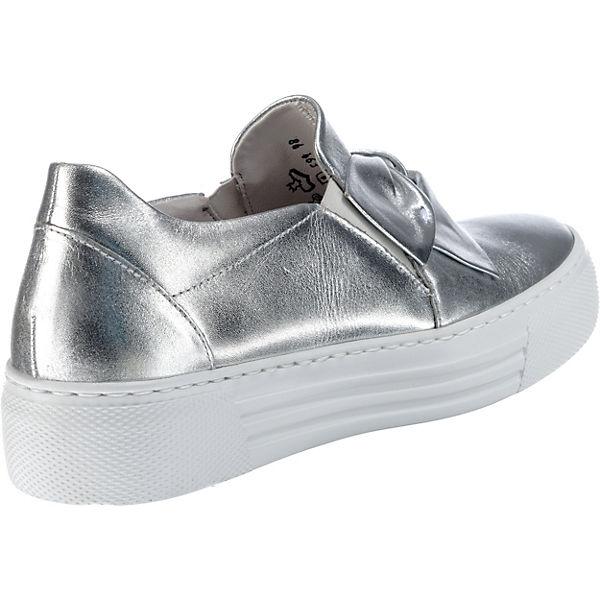 Gabor Klassische Halbschuhe Qualität silber-kombi  Gute Qualität Halbschuhe beliebte Schuhe 30cdd9