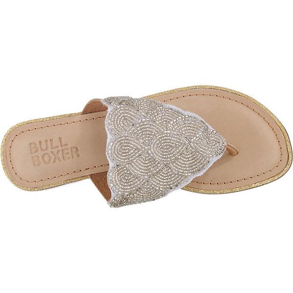 BULLBOXER, Zehentrenner, Gute silber Gute Zehentrenner, Qualität beliebte Schuhe 826c7b