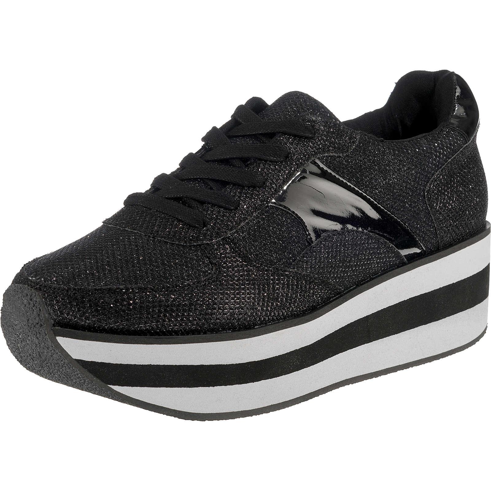 BULLBOXER Sneakers Low schwarz Damen Gr. 36