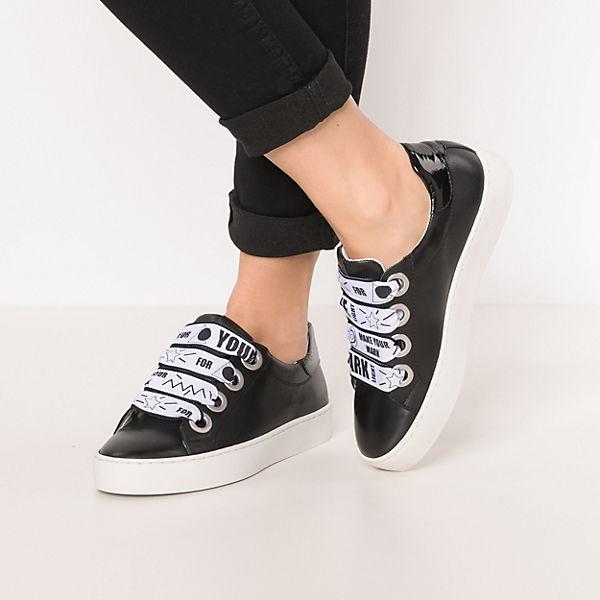 BULLBOXER Sneakers Sneakers Low Low schwarz schwarz BULLBOXER BULLBOXER PqWU7wA