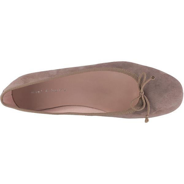 mint&berry Klassische Ballerinas beige